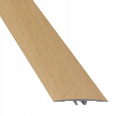 Планка пороговое разделительный профиль 3 ,5x90cm Бук