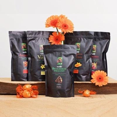комплект с подарками кофе с вкусовыми гранулированных