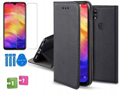 PORTFEL Etui pokrowiec do Huawei Y6s 2019 + SZKŁO