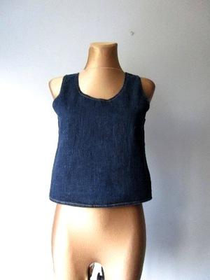 36/38 Jeansowa bluzeczka ONLY elastyczna -g108