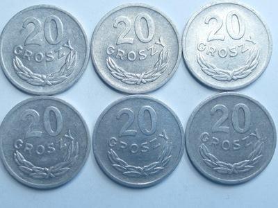 Монета 20 гр копеек 1971 года красивая
