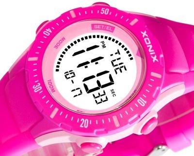 Cyfrowy Zegarek XONIX Wodoszczelny Młodzieżowy