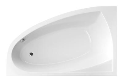 Vaňa - Aquaria Comfort 160x100 asymetrická vaňa vľavo