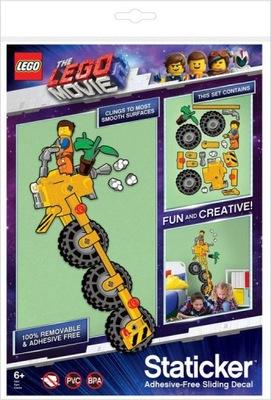 LEGO Movie - Staticker Emmetovo skvelé vozidlo. Pohyb