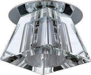 Ucho sufitowe5117 žiarovka G4 halogénové lampy sklo