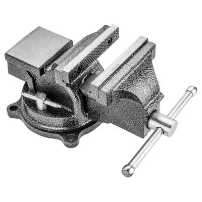 Тиски слесарные поворотные 125 мм Topex 07A212