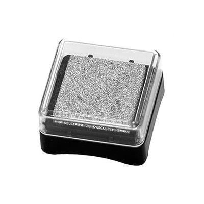 Чернила пигмент мини подушка - серебро