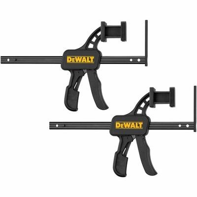 Ściski szybkomocujące do szyn DeWALT 2szt DWS5026