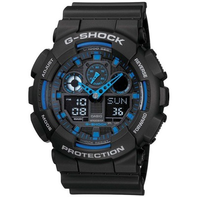 Zegarek Męski CASIO G-Shock Classic GA-100 -1A2ER