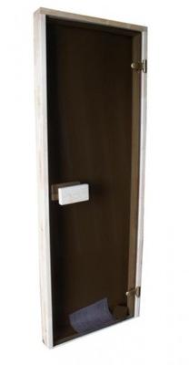 Сауна двери для сауну 69x189 Осина КОРИЧНЕВЫЙ
