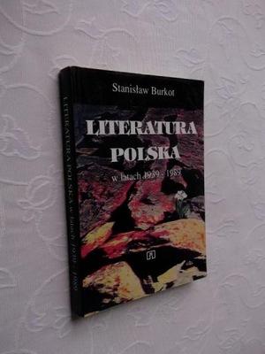 LITERATURA POLSKA 1939-1989 /LITERATUROZNAWSTWO