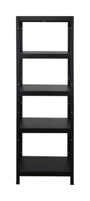 Стеллаж металлический ELARA 180x60x40 Черный 5 полок