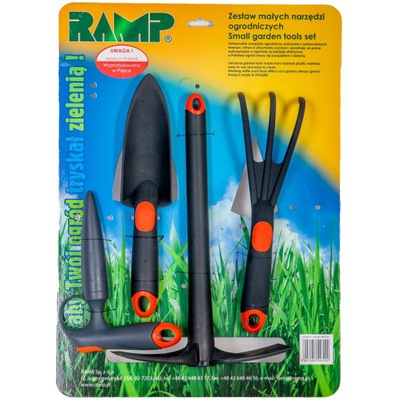 комплект 4 садовых инструментов - RAMP