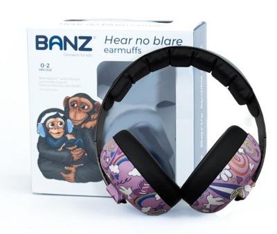 Slúchadlá ochranné slúchadlá pre deti 0+ BANZ