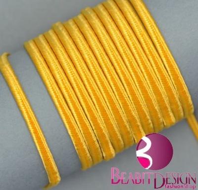 Sutasz żółty (46) - 2metry (PEGA 1202) SOUTACHE