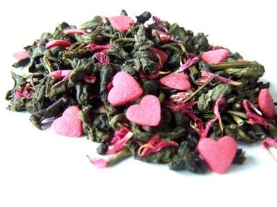 I LOVE YOU 1 кг чай зеленый гранат необычная