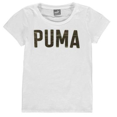 60536eca3 Puma Bluzka T-Shirt dla dziewczynki r. 116 5/6 - 7600224165 ...