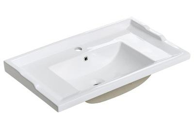 Umývadlo keramické RETRO 60 cm s otvorom pre bater