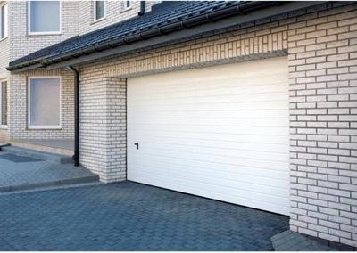 WIŚNIOWSKI segmentowa brama garażowa 5000x2100 B-B