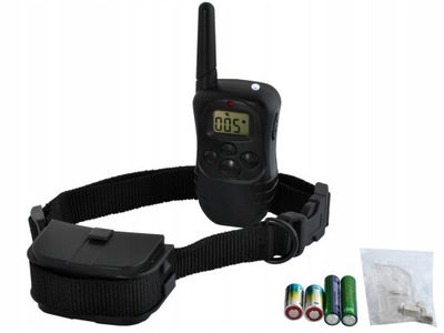 электрическая ошейник тренировочная для собак пульт 300м