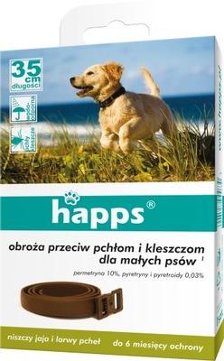 Happs воротник на блох и клещей для маленьких собак