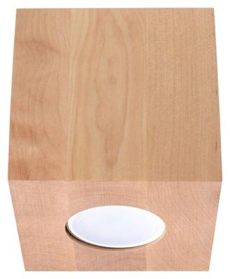 Drevo námestie QUAD stropné svietidlo stropné svietidlo GU10