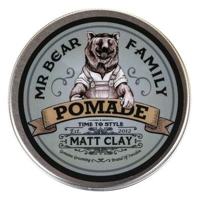 MR BEAR FAMILY Matt Clay Pomada Matująca 100ml