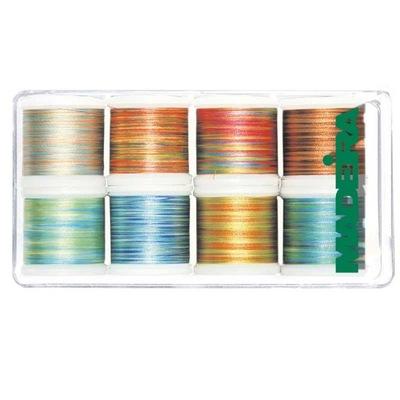 комплект 8 нитки ??? вышивания Madeira Polyneon многоцветные