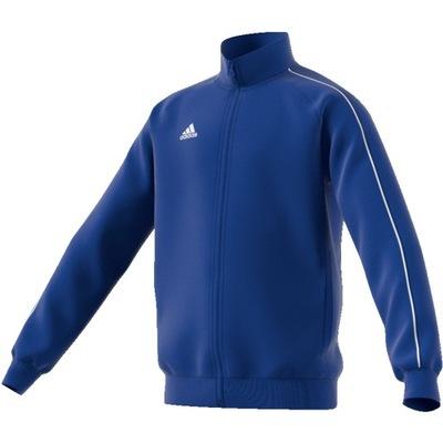 Bluza dresowa ADIDAS CORE 18 JR size 164 BLUE