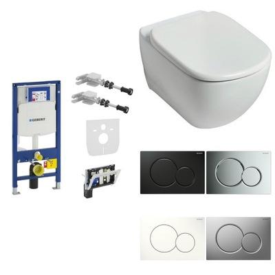 WC misa - WC rámček GEBERIT rám SIGMA TESI misa doska AQUABLADE