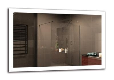 Zrkadlo na kúpeľňa LED 120x80 cm   PREMIUM M1ZP-50