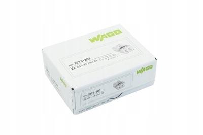 WAGO rýchly konektor 2273-202 2x0,5-2,5 mm, 100KS