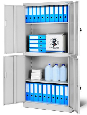 шкаф металлическая офисная aktowa документы  НОВАК