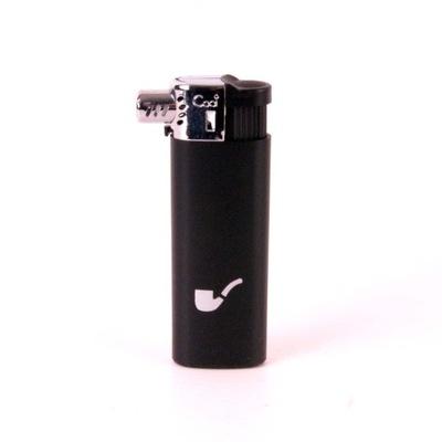 Зажигалка боковая 01034 газовая 2 цвета BrogShop