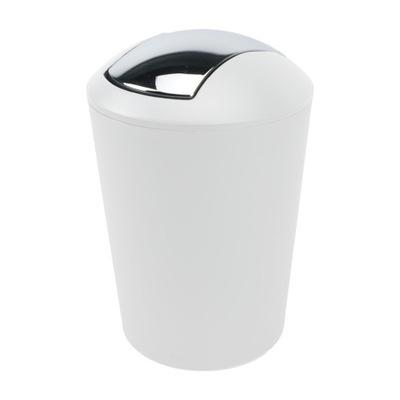 Odpadkový koš - Kosz na śmieci z uchylną klapą chromowaną Kela