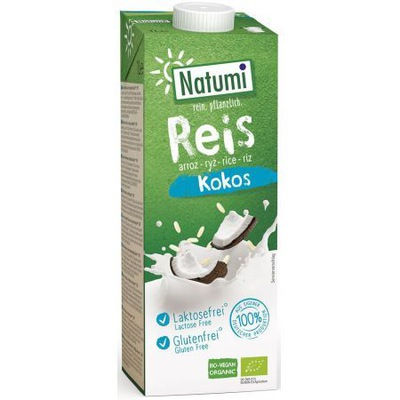 Напиток ryżowo-Кокосовое безглютеновой 1л био