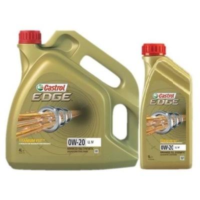 CASTROL EDGE LL IV FE 0W20 1L VW 508 00/509 00 - 7608395552