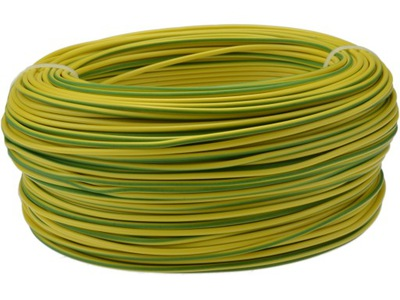 Drôt, kábel, kábel LGY H07V-K, 6 mm2, W zelená 100m