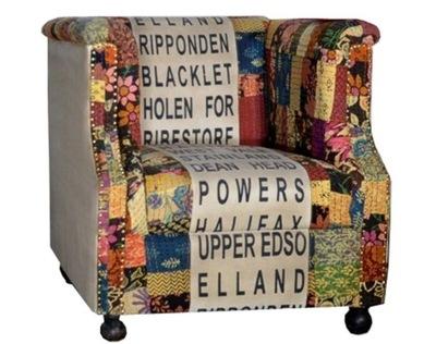 Стильный Кресло instagram цветной цветы