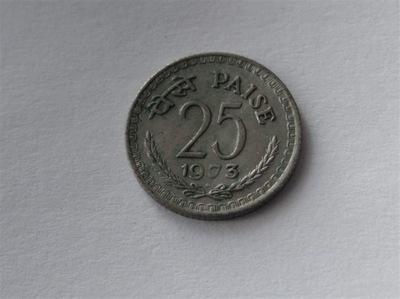 [6141] Индия 25 paise 1973 года.  . 2 -