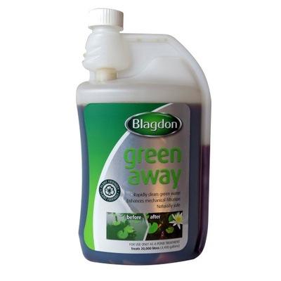 GREEN AWAY 1л - антиводоросль на зеленую воду - 20m3 Воды