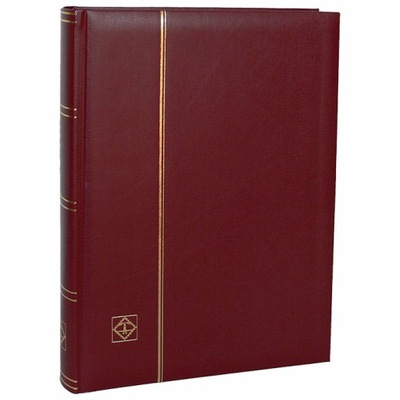 Кластер на марки Comfort ?????????? четыре стр. Бордовый LEUCHTTURM