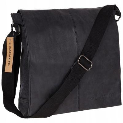 ZAGATTO сумка мужская ?? плечо крепкая сегодня почтальонша