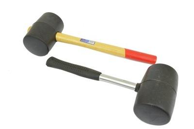 МОЛОТОК 2 штук резиновый для брусчатки для металла 90мм Мощность