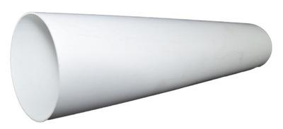 Kanał wentylacyjny okrągły fi 125 / 1,0 mb
