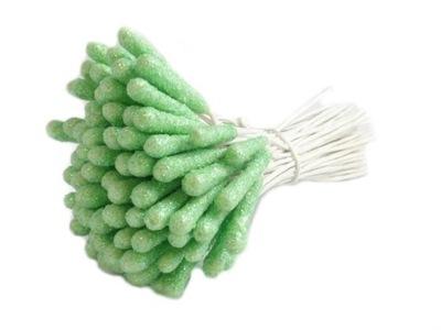 PT307 тычинки для цветов проволока дубинки зеленые 40sz