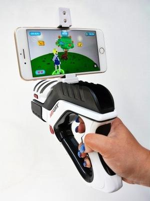 Zbraň hry s gyro AR smartphone telefón