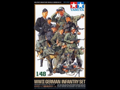 1 /48 ВОВ Германий Infantry Set Tamiya 32512