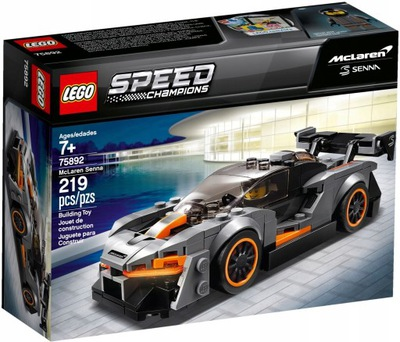 LEGO RÝCHLOSŤ MAJSTROV McLaren Senna GT3 75892