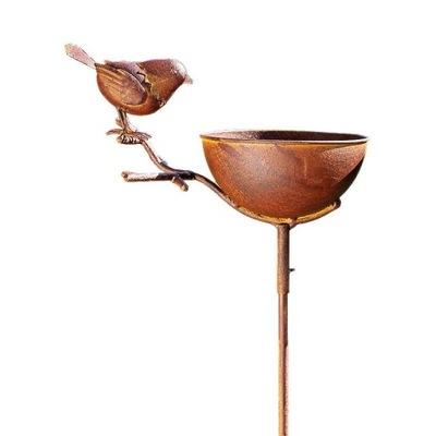 садовое металлические поилка птиц Декоративные